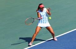 Partita Ucraina di tennis di FedCup contro l'Argentina Fotografia Stock Libera da Diritti