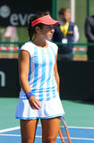 Partita Ucraina di tennis di FedCup contro l'Argentina Immagine Stock Libera da Diritti