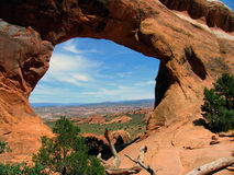 Partition arch, Arches National Park Stock Photography