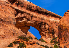 Partition Arch Devils Garden Arches National Park Moab Utah Royalty Free Stock Photography