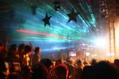 Partito alla discoteca fotografia stock libera da diritti