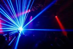 Partito alla discoteca Fotografia Stock
