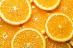Partito arancione Fotografia Stock