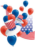 Partito degli S.U.A. Fotografie Stock Libere da Diritti