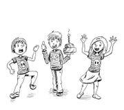 Partito dei bambini Fotografie Stock Libere da Diritti