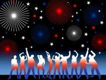 Partito del 4 luglio Immagine Stock Libera da Diritti