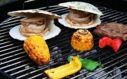 Partito del barbecue Fotografia Stock Libera da Diritti