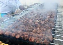 Partito del barbecue Immagine Stock