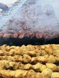 Partito del barbecue Fotografie Stock