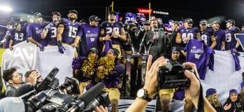 2016 partito del campionato del NCAA - stadio del ` s di Levi Fotografie Stock