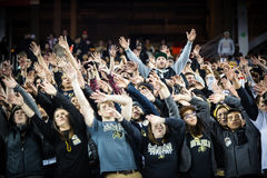 2016 partito del campionato del NCAA - stadio del ` s di Levi Fotografia Stock Libera da Diritti