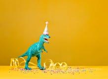 Partito del dinosauro fotografia stock libera da diritti