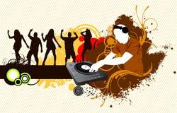 Partito del DJ Immagine Stock