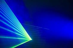 Partito del laser Immagini Stock