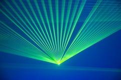 Partito del laser fotografie stock libere da diritti