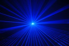 Partito del laser Fotografie Stock