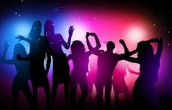 Partito della discoteca Immagini Stock