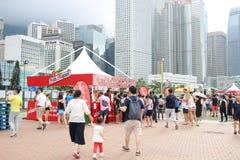 partito della HK Dragon Boat Carnival Fotografie Stock
