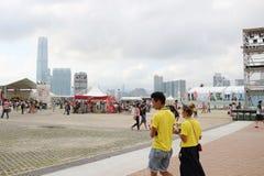 partito della HK Dragon Boat Carnival Immagine Stock