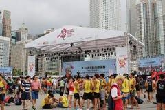 partito della HK Dragon Boat Carnival Fotografia Stock Libera da Diritti