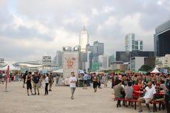 partito della HK Dragon Boat Carnival Fotografia Stock