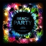 Partito della spiaggia Immagini Stock