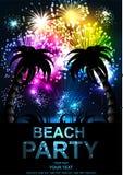 Partito della spiaggia Immagine Stock Libera da Diritti