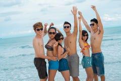Partito della spiaggia Fotografia Stock Libera da Diritti