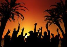 Partito di ballo della rottura della sorgente Fotografia Stock Libera da Diritti