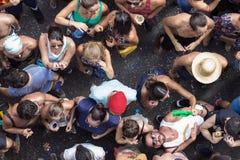 Partito di carnevale nel Brasile Fotografie Stock Libere da Diritti