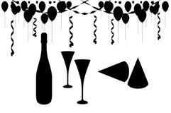 Partito di celebrazione royalty illustrazione gratis