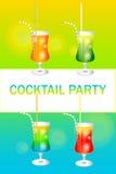 Partito di cocktail Fotografia Stock