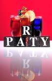 Partito di Cocktale Fotografie Stock Libere da Diritti