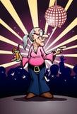 Partito di dancing della nonna Fotografie Stock Libere da Diritti