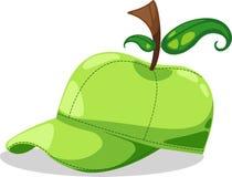 Partito di fantasia della mela del cappello royalty illustrazione gratis
