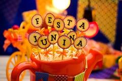 Partito di Festa Junina immagini stock