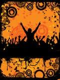 Partito di Grunge Fotografie Stock Libere da Diritti
