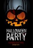 Partito di Halloween. Fotografia Stock