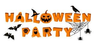 Partito di Halloween Immagini Stock