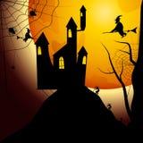 Partito di Halloween Illustrazione di vettore Fotografie Stock