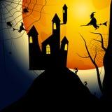 Partito di Halloween Illustrazione di vettore Immagine Stock Libera da Diritti