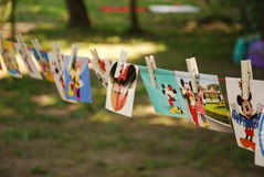 Partito di Minnie Mouse Fotografie Stock