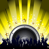 Partito di musica Immagine Stock Libera da Diritti