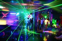 Partito di musica della discoteca Fotografie Stock