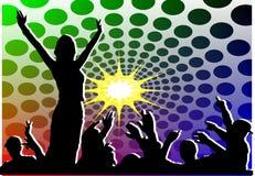 Partito di musical della gioventù Immagini Stock Libere da Diritti