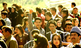 Partito di Newroz Fotografie Stock