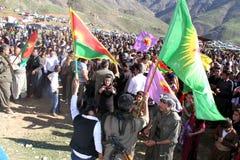 Partito di Newroz Fotografia Stock Libera da Diritti