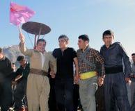 Partito di Newroz Fotografia Stock