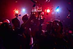 Partito di notte fotografie stock libere da diritti