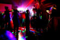 Partito di notte Immagine Stock